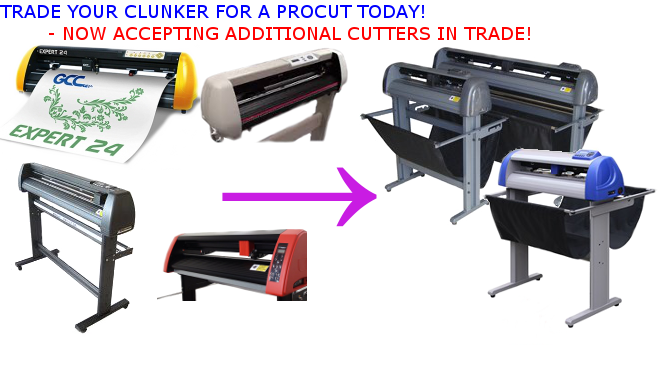 Vinyl Cutter Trade In Trade Up