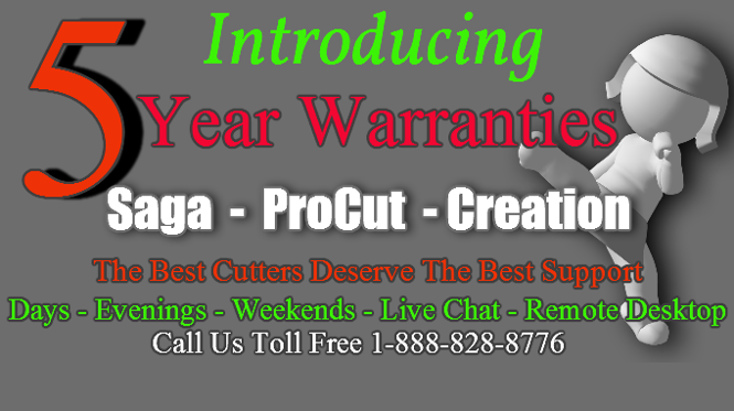 ProCut 5 Year Warranty!!