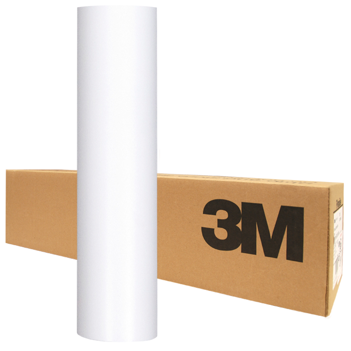 3M™ Scotchlite™ Reflective Graphic Film IJ5100 Perm 7 Mil White Reflective Vinyl For Solvent Ink Jet Printers