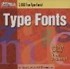 Clipart & Fonts 2000 Type Fonts