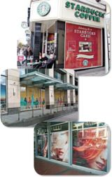 Continental Grafix® panoRama Film Hide And See Non-Adhesive Perforated Polyester Banner Material