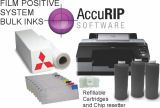 Epson Stylus Pro 4900 17 Inch Inkjet AccuRip All Black Package Bulk Refillable Cartridges