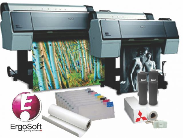 Epson Stylus Pro 7890 24 Inch Inkjet Printer Screen Printing And Sublimation System
