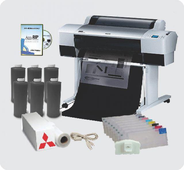 Epson Stylus Pro 9890 44 Inch Inkjet Printer Screen