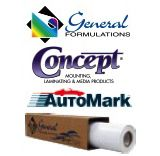 General Formulations Concept� 231 AutoMark� Gloss Clear UV Wrap Laminate Premium Polymeric 2.4 Mil