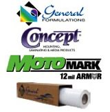 General Formulations Concept® 238 MotoMark™ Armor Gloss Clear UV Laminate 5 Year 12 Mil