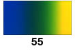 Graduated Gradient Rainbow Vinyl Horizontal Blue To Green To Yellow 55