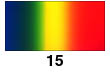 Graduated Gradient Rainbow Vinyl Horizontal Blue To Green To Yellow To Orange To Red 15