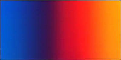 Graduated Gradient Rainbow Vinyl Horizontal Blue To Red To