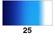 Graduated Gradient Rainbow Vinyl Horizontal Blue To White 25