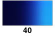 Graduated Gradient Rainbow Vinyl Horizontal Dark Blue To Light Blue 40