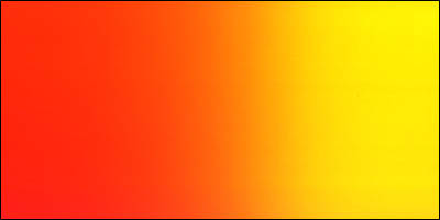 Graduated Gradient Rainbow Vinyl Horizontal Orange To