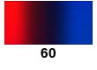 Graduated Gradient Rainbow Vinyl Horizontal Red To Blue 60
