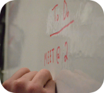 Griff Decorative Films Dry Erase Whiteboard Markerboard Film Material 24""