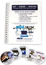 Hix Screen Printing Educational And Instructional Guides
