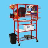 Image One Impact Mobile Wrap Tool And Detailers Cart