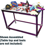 Image One Impact Wrappers Mobile Table Frame