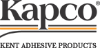 Kapco® 2 Mil PSA Cast Gloss White Vinyl - Gray Positionable/Semi Permanent Adhesive - 90 Pound Air Release Liner