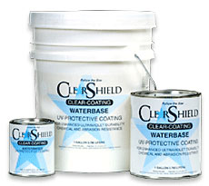 Marabu ClearShield® Water Base UV Protective Liquid Laminate