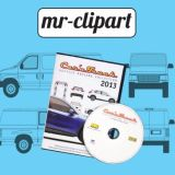 Mr-Clipart Car And Truck Vehicle Outline Collection