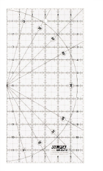 "OLFA� QR-6X12 Square Frosted Acrylic Ruler 6"" X 12"""