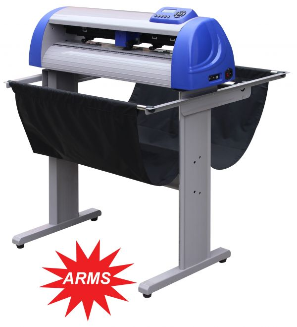 "Precision Servo ARMS Vacuum Vinyl Cutter With Automatic Registration Mark System P720IIP 28.3"" / 24.8"""