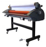 "Royal Sovereign 55"" Wide Format Cold Pressure Sensitive Roll Laminator Cold Roller RSC-1401CW"
