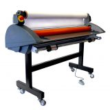 "Royal Sovereign 55"" Wide Format Cold Pressure Sensitive Roll Laminator Cold Roller With Heat Assist Top Roller RSC-1401HW"
