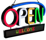 Royal Sovereign LED Open Sign With Scrolling Message RSB-1350E