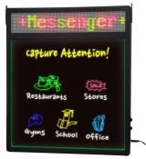 Royal Sovereign Rewritable Display Sign With Scrolling Message RSB-1360