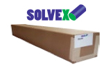 Solvex MP And GP Calendered Matte Or Gloss White Inkjet Vinyl With Permanent Adhesive 3.2 Mil