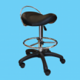 SooperChair Saddle Synthetic Leather Wrap Installer And Shop Chair