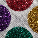 "Specialty Materials™ GlitterFlex Ultra With Easy To Use Sticky Carrier Rainbow Neon Holo 19.5"" X 15 yd"