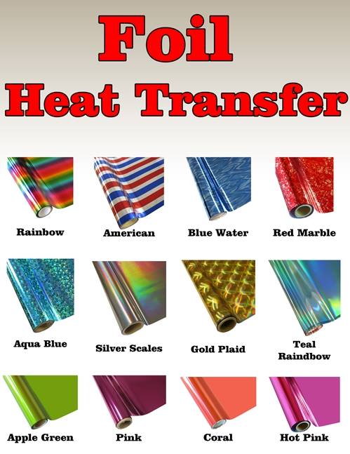 The Magic Touch USA Heat Transfer Foil