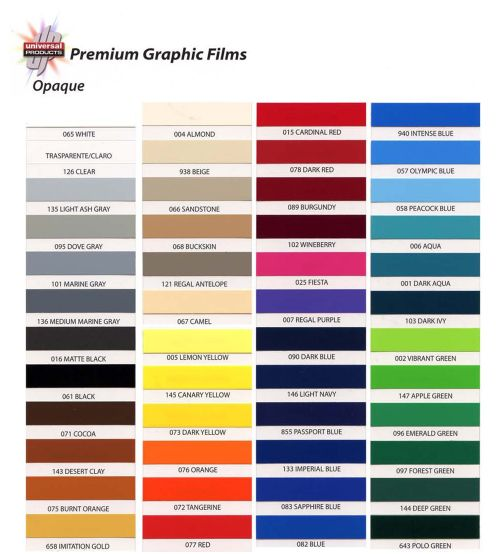 Universal Products Premium Cast Opaque 15 Quot X 50 Yd