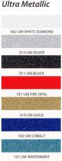 "Universal Products Ultra Metallic 15"" x 10 yd Perforated"