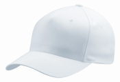 Simulated Cotton Cap for Sublimation, 98% Polyester, 2% Spandex