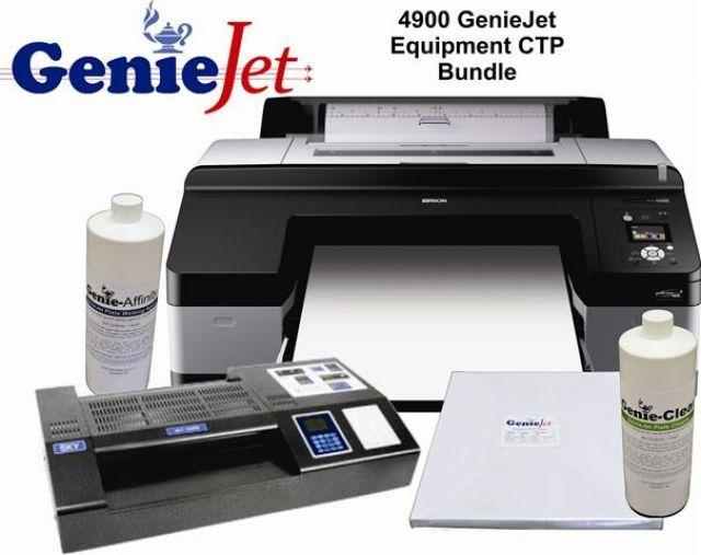 Epson Stylus Pro 4900 17 Inch Inkjet Printer Geniejet