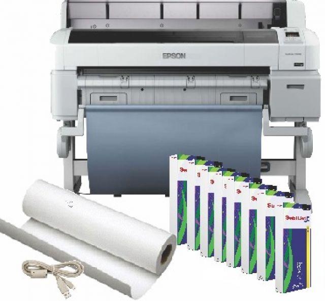 Epson Surecolor T3000 24 Inch Color Printer Sublimation