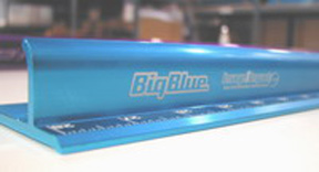Big Blue Safety Ruler Rulers Scales Measures